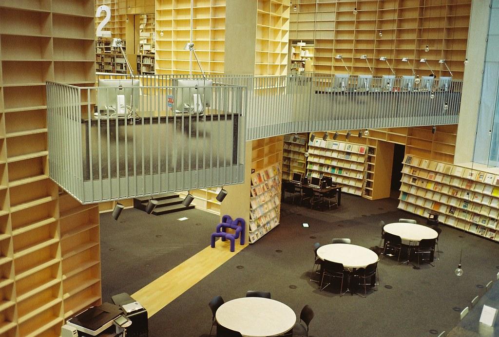 musashino art university library jihak hong flickr
