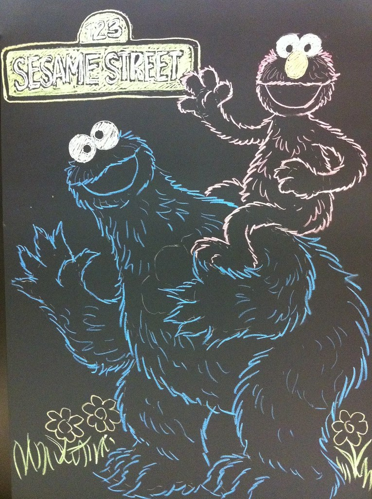 chalkboard drawings near the elevators new workspace at happy september birthday happy september story