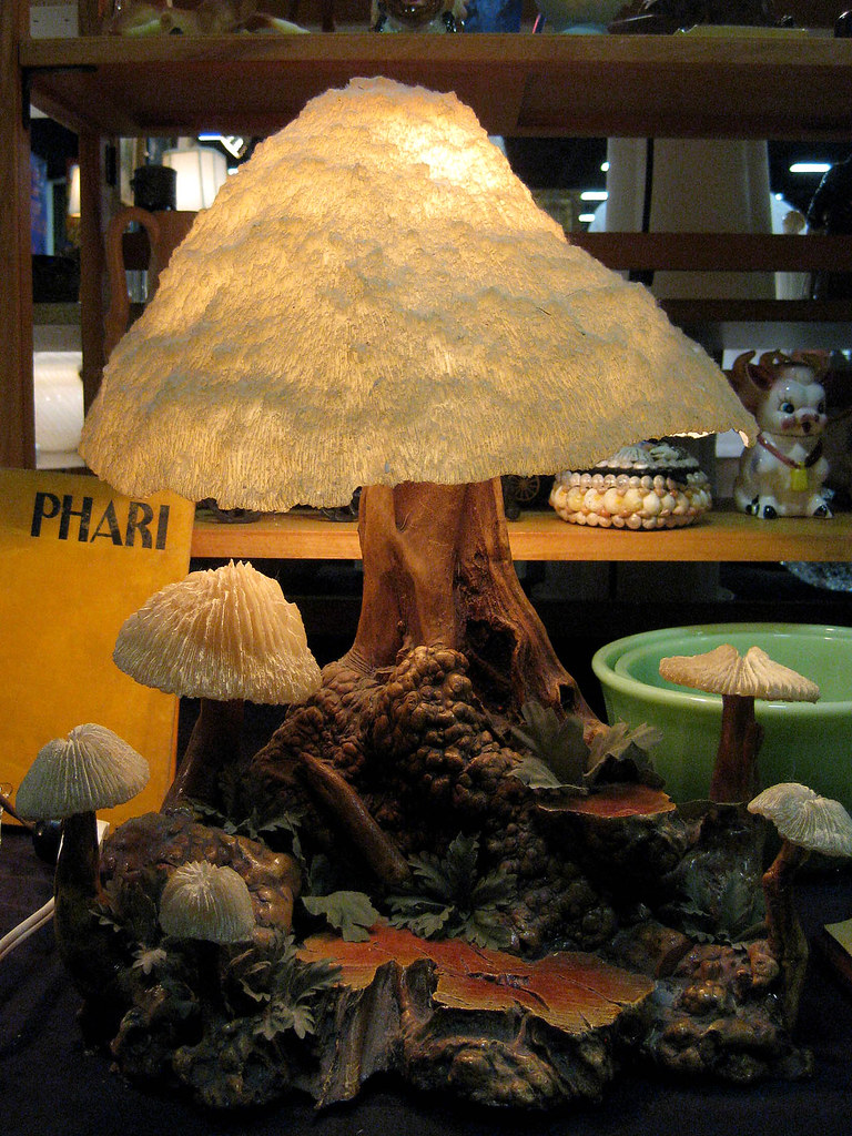 Mushroom Lamp Oh Temptation If You Had Shown Me The