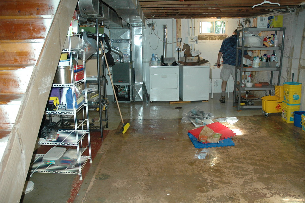 flooded basement cleanup fairfax county flickr rh flickr com clean up after flooded basement Fixing Flooded Basement