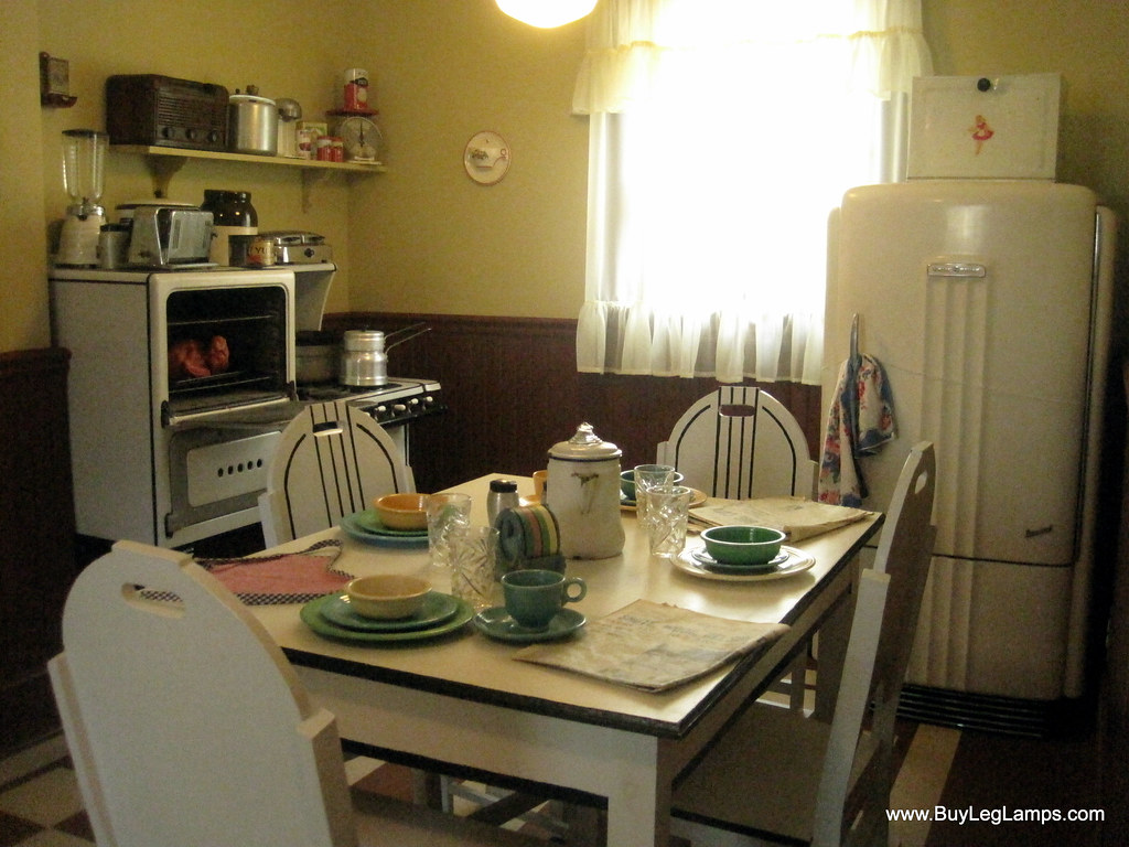 Kitchen at A Christmas Story House | Here you can see