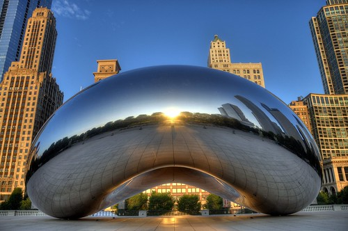 Cloud Gate | by rmlowe