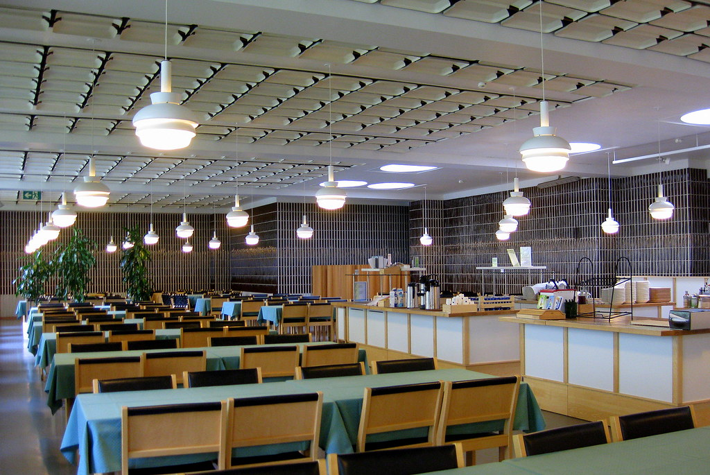 Kela head office canteen helsinki finland ekaterina for Best office design in the world