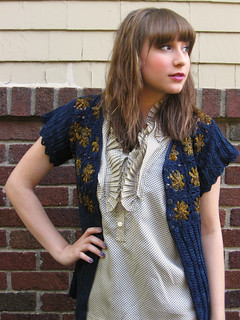 starry night cardigan | by lindamade