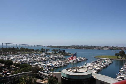 View from San Diego Marriott | by sdenisehoyle