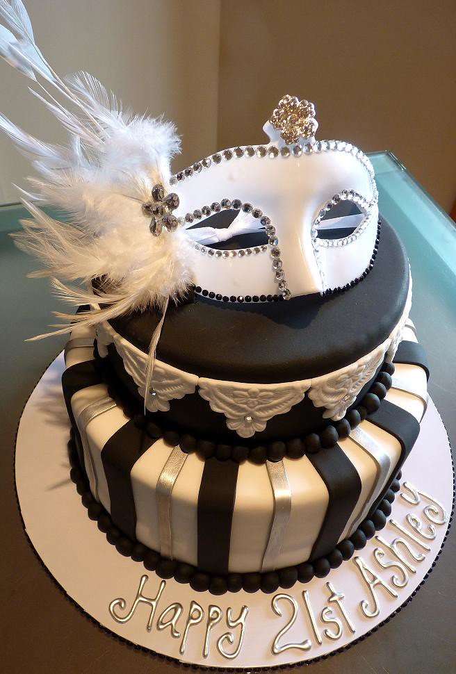 Masquerade Cake Top Tier Was Caramel Mud Cake And Bottom T Flickr