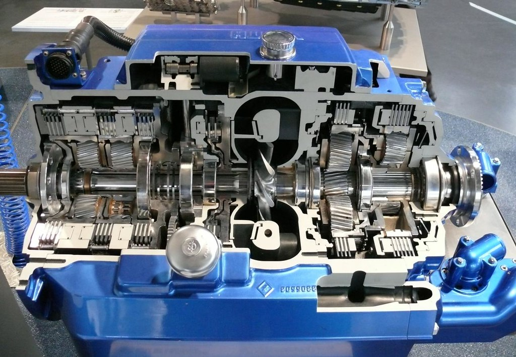 Transmission >> Voith Turbo DIWA.5 automatic transmission gearbox | stkone | Flickr