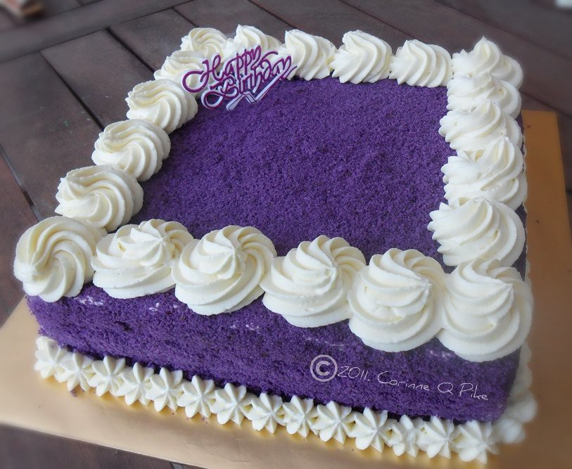 Ube Cake Red Ribbon Recipe