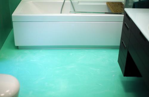 Bagno color verde acqua [tibonia.net]