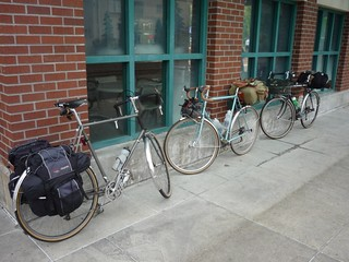 Three tall bikes in the Gumwall Gang | by cyclerslife