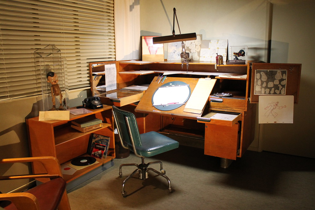 Animation Desk At The Treasures Of The Walt Disney Archive