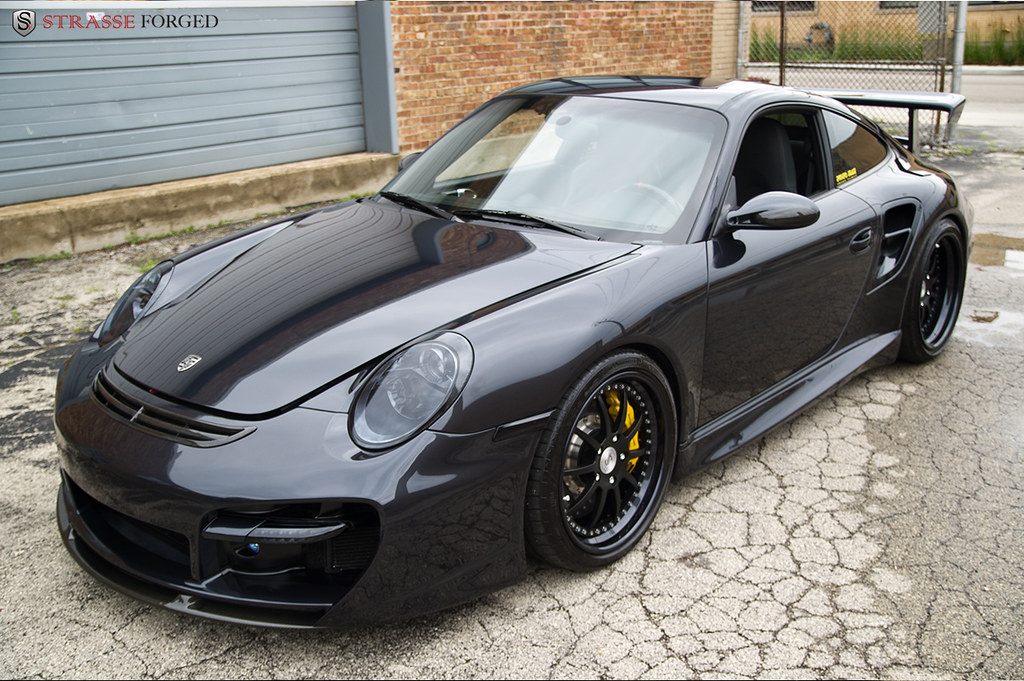 Strasse Forged Wheels Techart Porsche 997 Turbo Techart