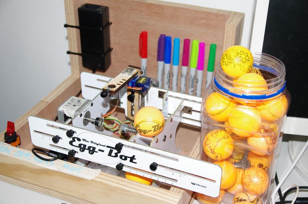 Egg Bot Robots Dinosaurs Sydney Hackermaker Space Flickr