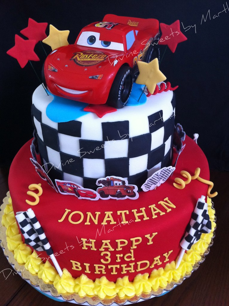 Cake With Fondant Cars : CARS CAKE Find me on Facebook as