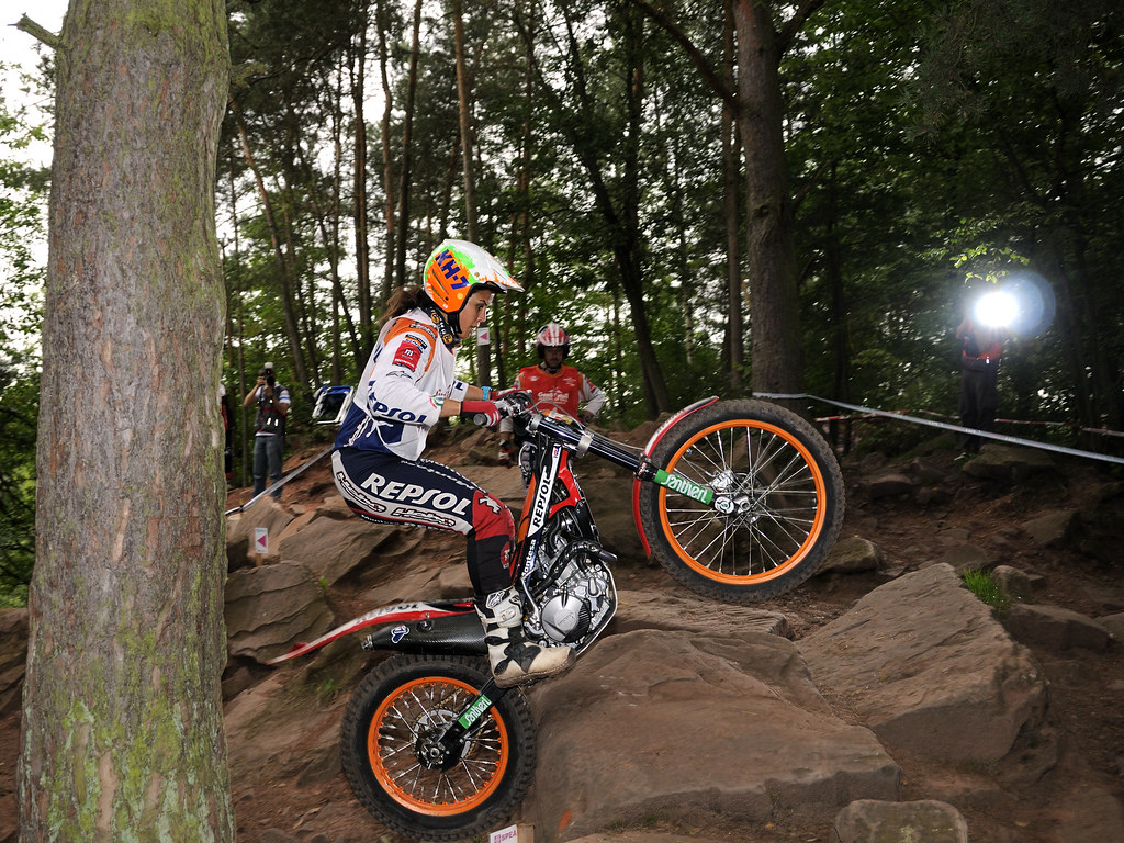 Laia Sanz Trial world champion