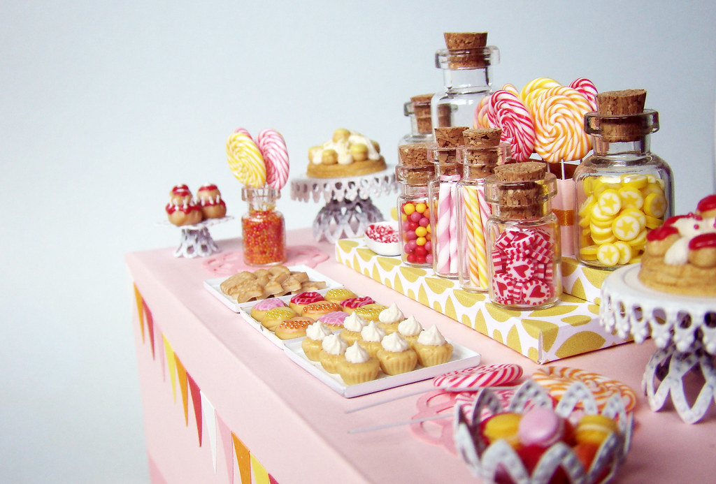 Miniature Candy Dessert Table Taaadaaaaa This Piece