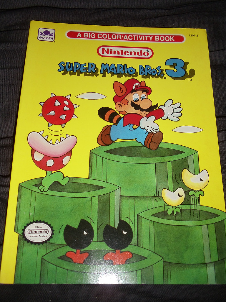 Super Mario Bros 3 Coloring Book Tanooki S Stuff Flickr