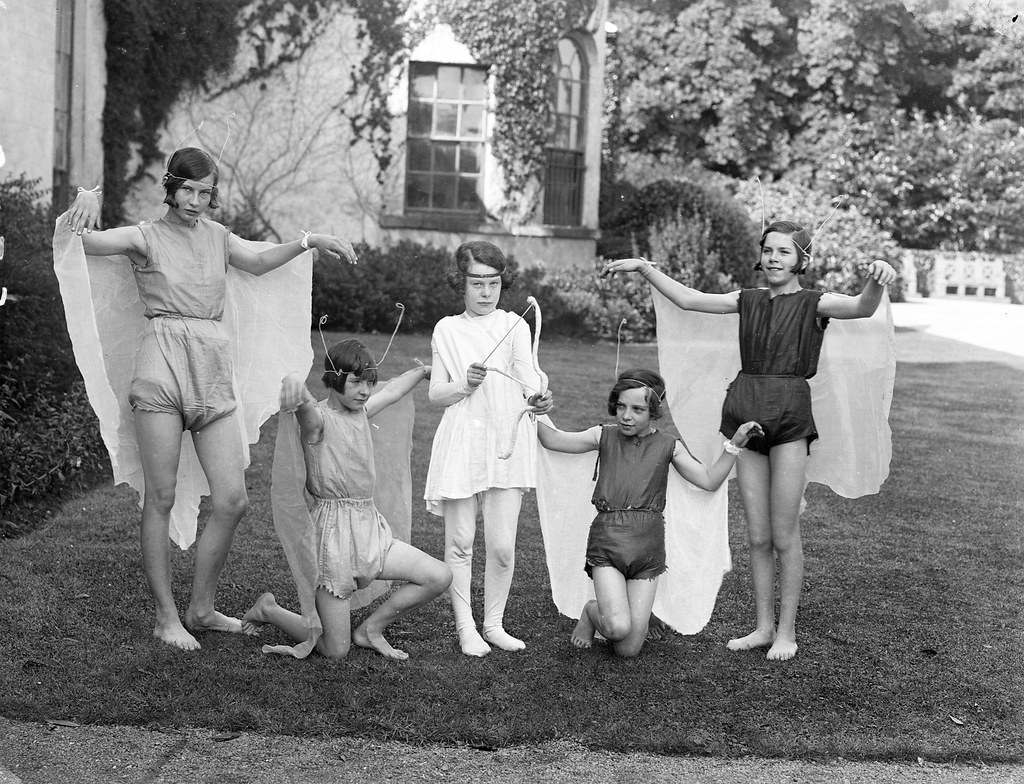 September 2, 1930  These Girls Fairies Wood Nymphs -4300