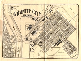 1904 Granite City Booklet - Fold Out Map at End | by Six Miles of Local History