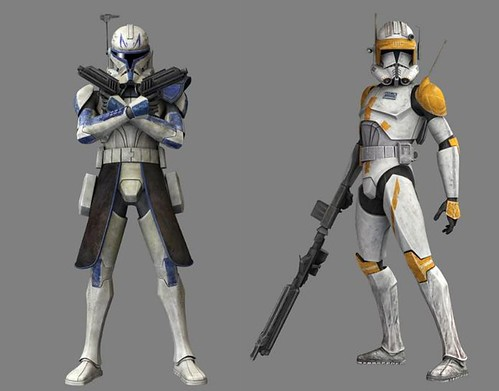Season 4 Captain Rex and Commander Cody ! | by MGF Customs/Reviews