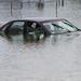 Flooded car Endicott 2011