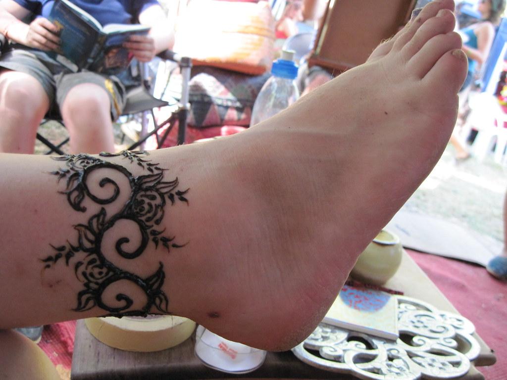 Mehndi Ankle Images : Henna ankle piece melissa banford flickr