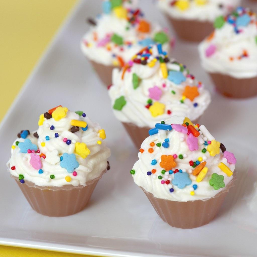 Birthday Cupcake Jelly Shot
