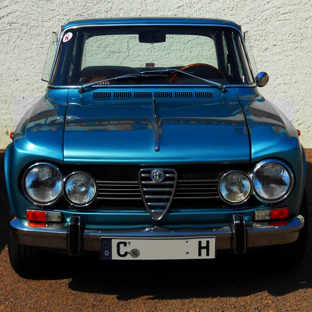 alfa romeo giulia super 1600 1969 4 cylinder 98 ps 157 flickr. Black Bedroom Furniture Sets. Home Design Ideas