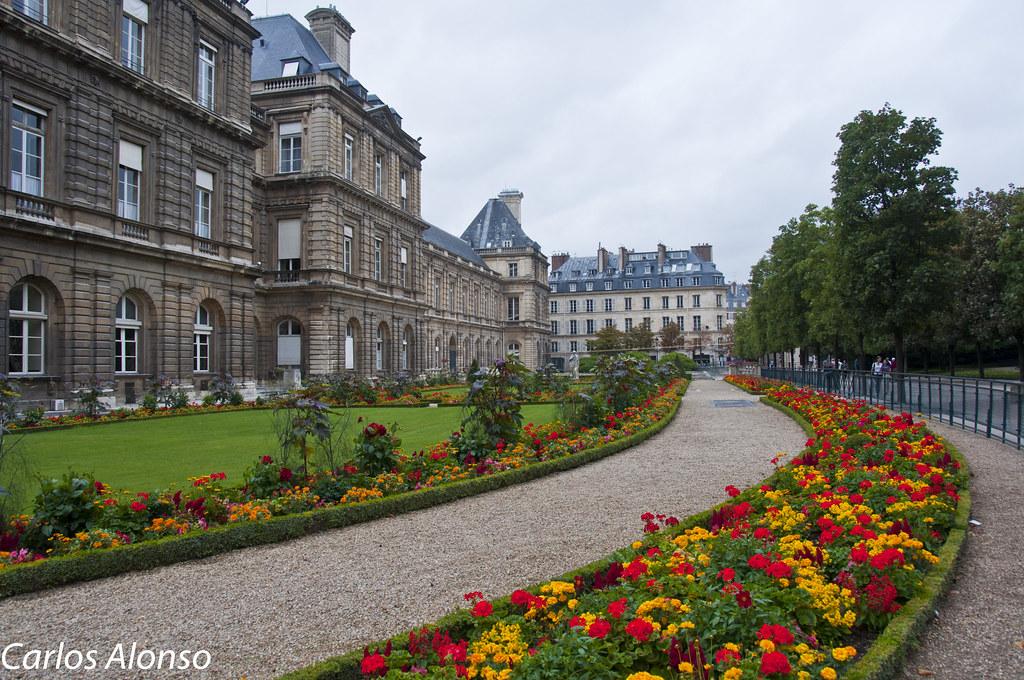 Palacio y jardines de luxemburgo paris el jard n del for Jardines de poni