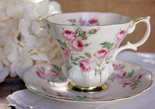 royal albert pink rose | by Grace & Ivy
