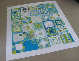 My 2010 3x6 Sampler Quilt Top | by lollyquiltz