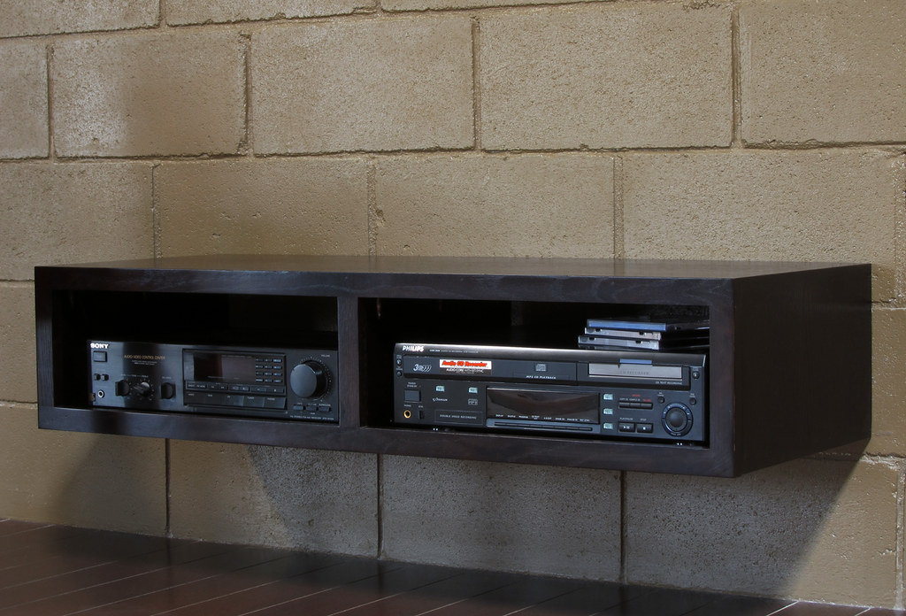 minimalist tv stand wall mounted mayan by woodwaves