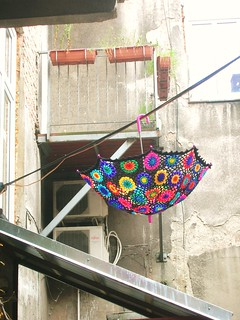Crochet Umbrella - Granny Square Parasol | by babukatorium