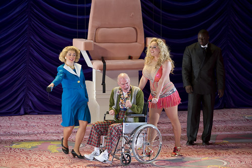 Alan Oke as J.Howard Marshall, Eva-Maria Westbroek as Anna Nicole and Artists of The Royal Opera in Anna Nicole © Bill Cooper/ROH 2011 | by Royal Opera House Covent Garden