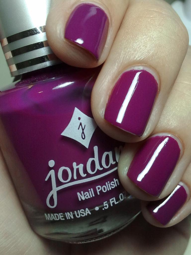 purple bright, jordana   esse é daqueles esmaltes q não dá p…   Flickr