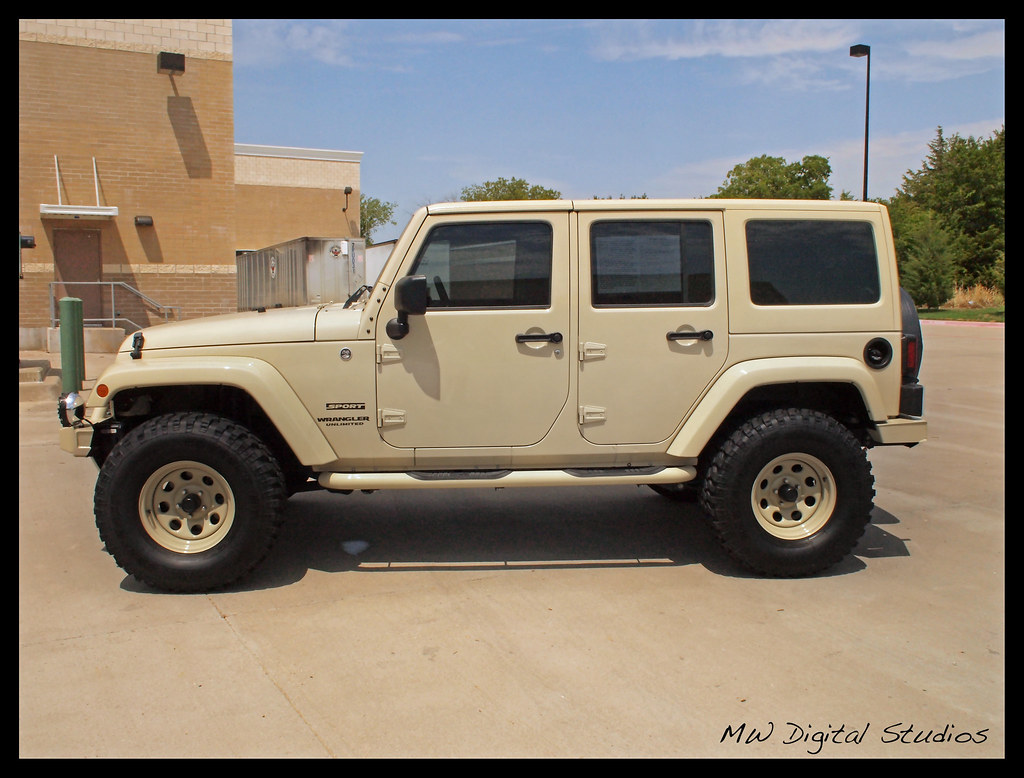 Sahara Tan Jeep Wrangler Unlimited Mwbutterfly Flickr
