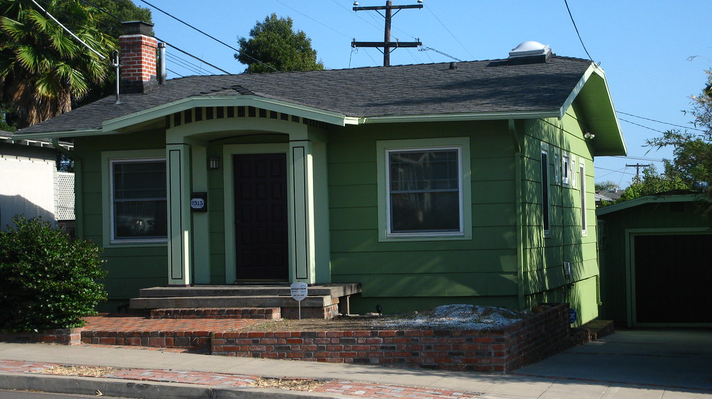 Green house with light green trim jerry kurjian flickr - White house green trim ...
