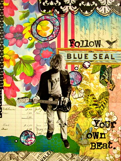 Follow Your Own Beat Journal Cover | by Michelle Rydell