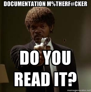 Documentation - do you read it (Credits: Matt Ray / FlickR)