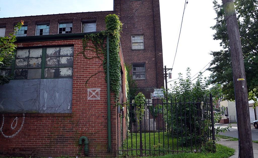 Corner Tower Abandoned Factory In Trenton Nj Originally Flickr