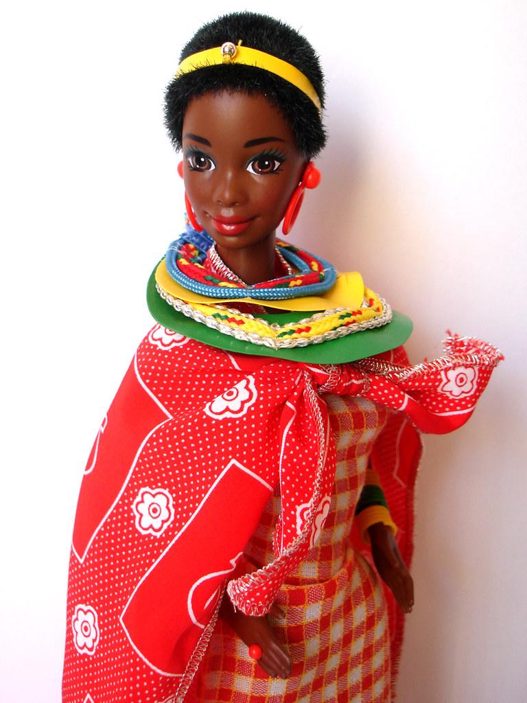 DOTW Kenyan Barbie 1994 | SKU# 11181 | T N | Flickr