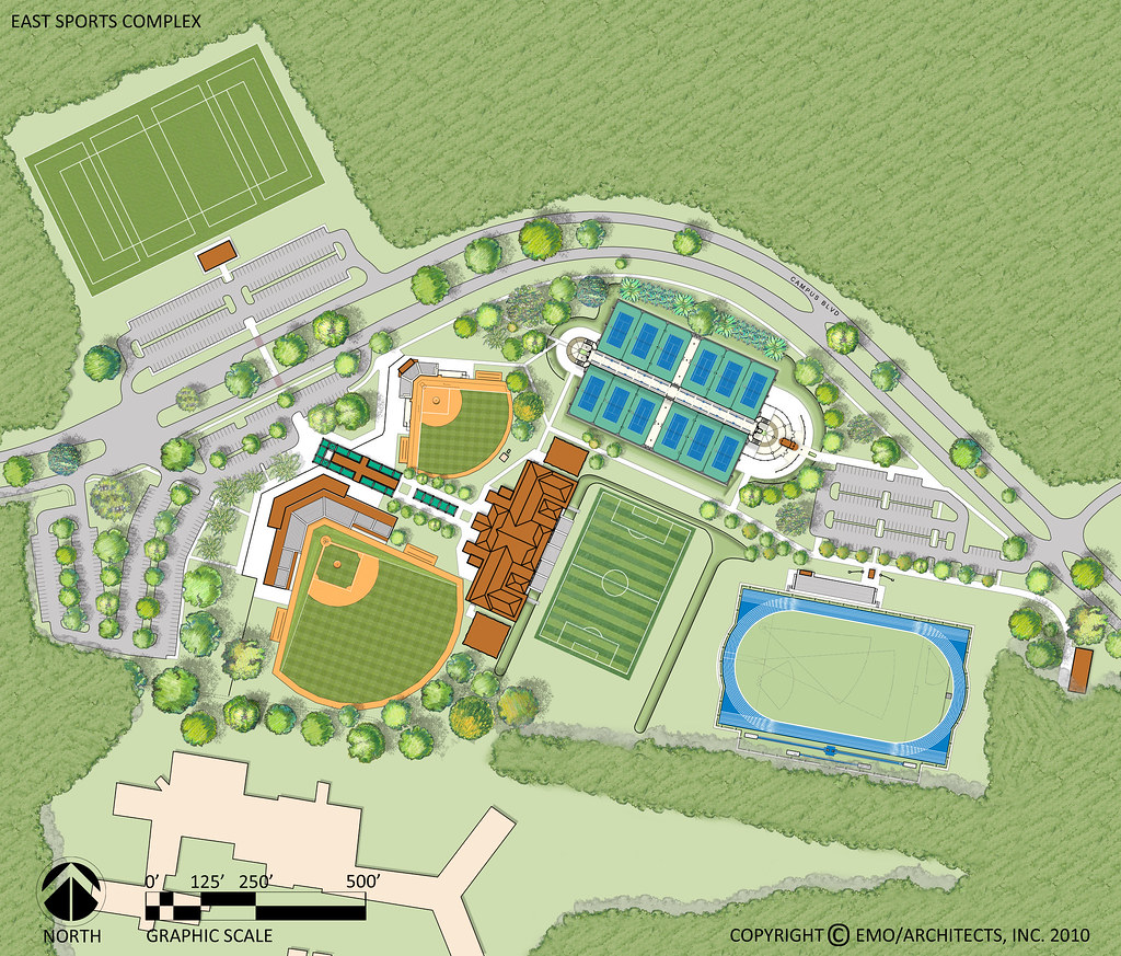 Proposed Uwf East Sports Complex 2d Plan University Of West Florida Flickr