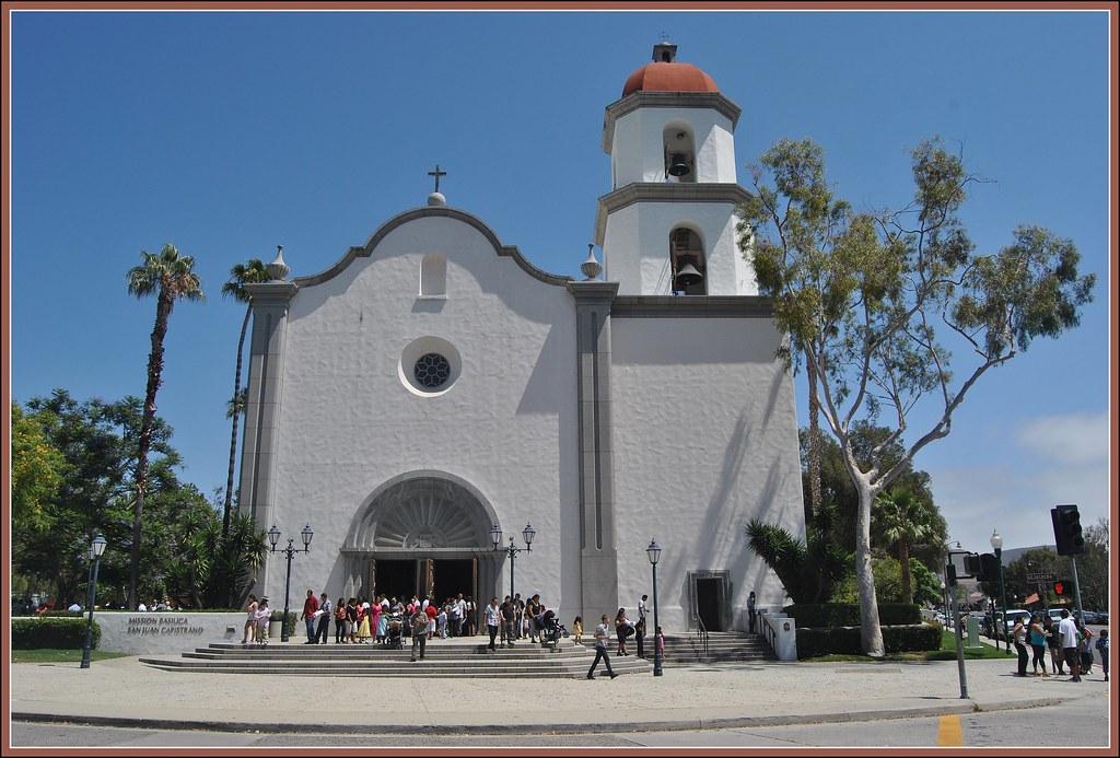 Mission Basilica San Juan Capistrano (2 Views ) | Mission