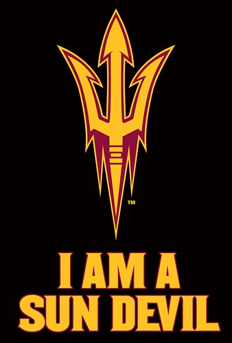 Arizona Sun Devils Cup Cake Toppers