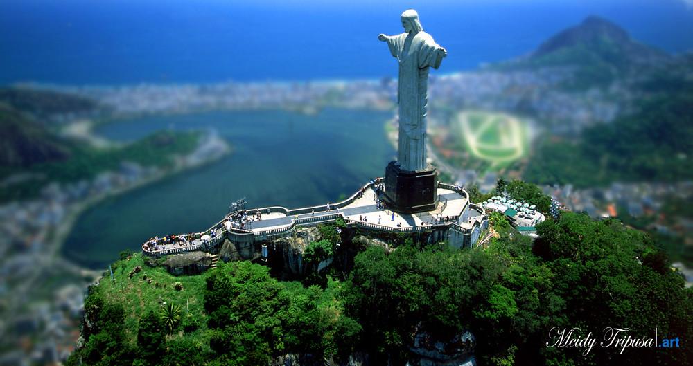 The Statue Of Jesus Christ In Rio De Janeiro Brazil Flickr