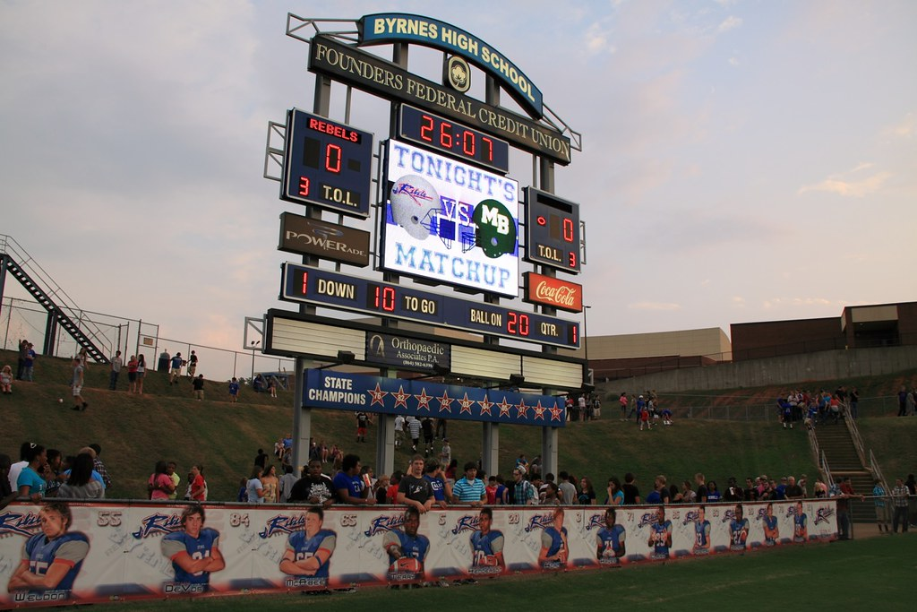 Byrnes High School Football Stadium at Byrnes High School in