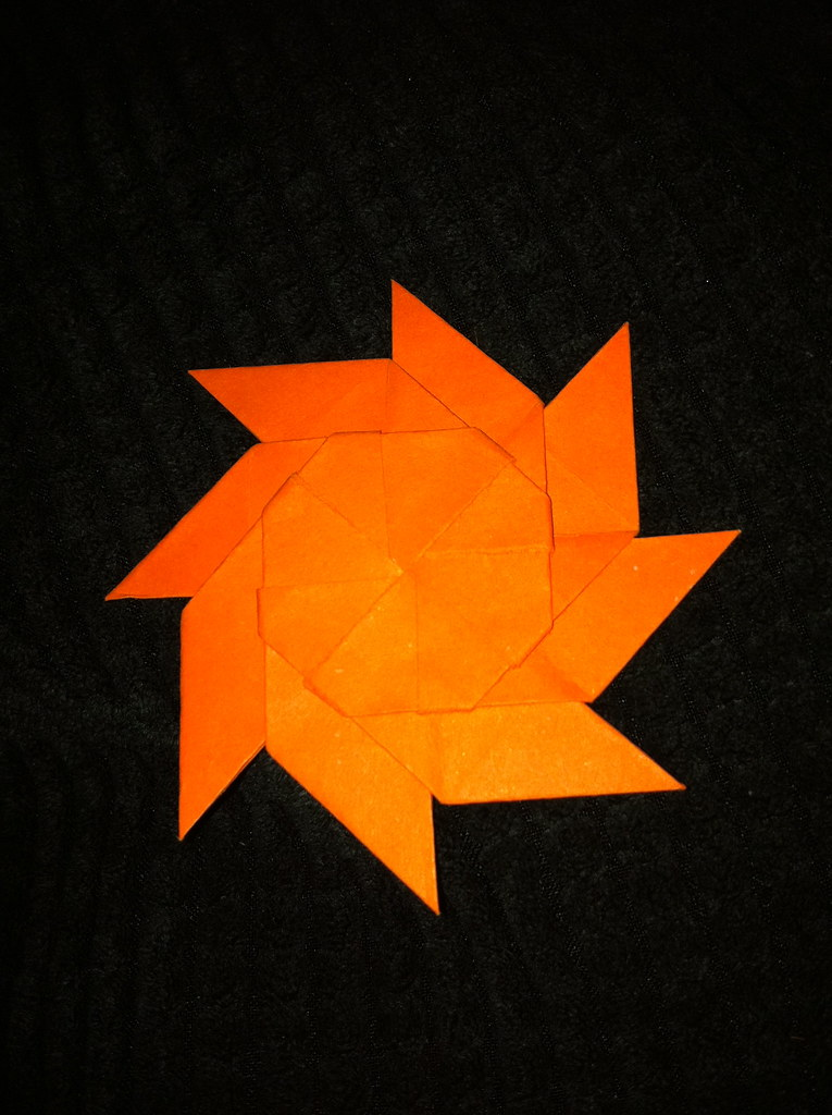 Origami Sun Turns Into Moon Rio The Movie Flickr