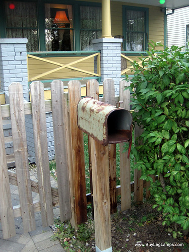 Original mailbox from the movie, A Christmas Story | by Buy Leg Lamps