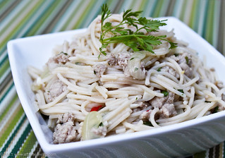 Gluten-Free Thai Noodles with Turkey | by Kim | Affairs of Living