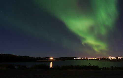 Northern Lights (Aurora Borealis) | by Gunnsi